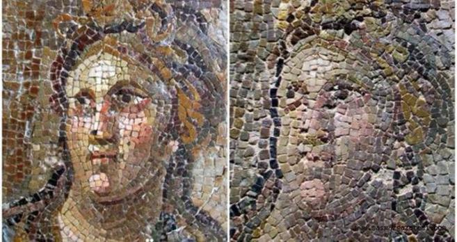 El resultado de una de las restauraciones abordadas por el Museo...