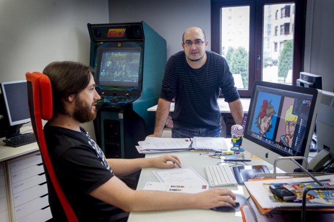 Jon Cortazar, de la empresa Relevo Videogames-