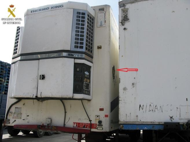 El contenedor en el que estuvo encerrado cuatro días el joven...