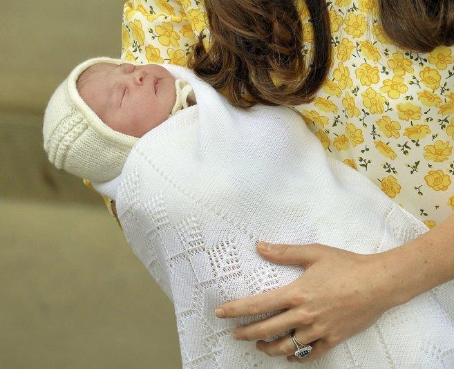 La hija de los príncipes Guillermo y Kate