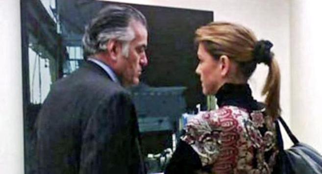 Luis Bárcenas y María Dolores de Cospedal.