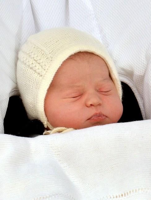 La hija de los duques de Cambridge.