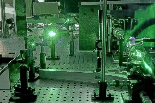 Dispositivo de espectroscopia láser del ICN2