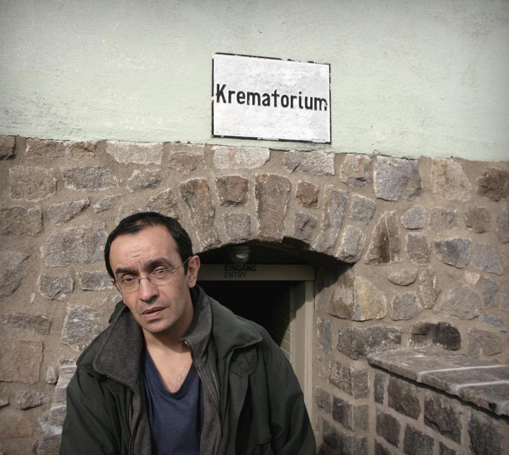Benito Bermejo, autor del libro 'El fotógrafo del horror', en el...