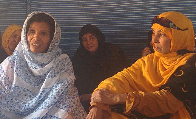 Victimas saharauis de la represión marroquí narran su calvario en...