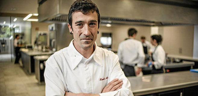 El chef Eneko Atxa, responsable del restaurante Azurmendi.