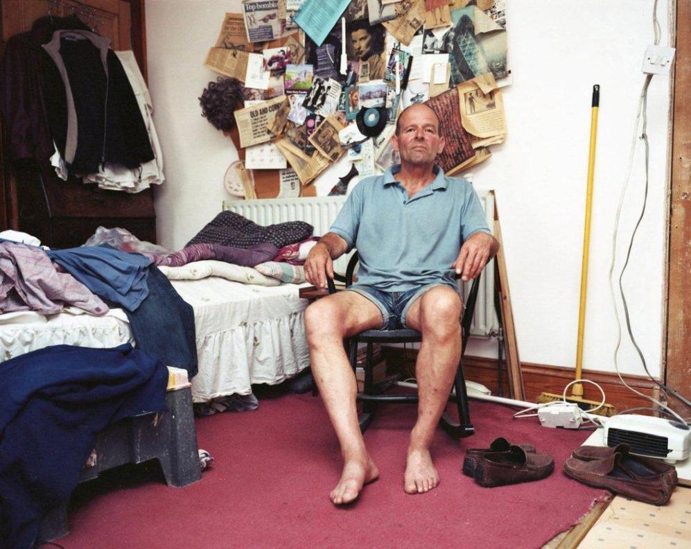 Una de las fotografías de Pablo Conejo expuestas en Londres.