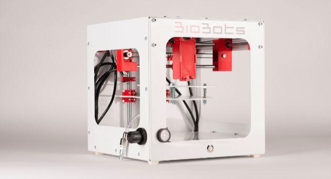 La impresora 3D de BioBots, BioBot 1, que funciona con células vivas.