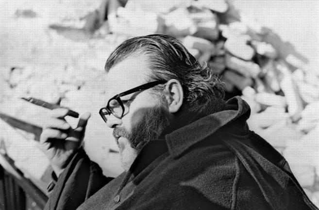 Retrato de Orson Welles.