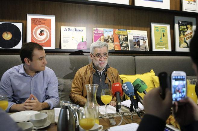 El candidato a la alcaldía de San Sebastián por el PP, Juan Carlos...