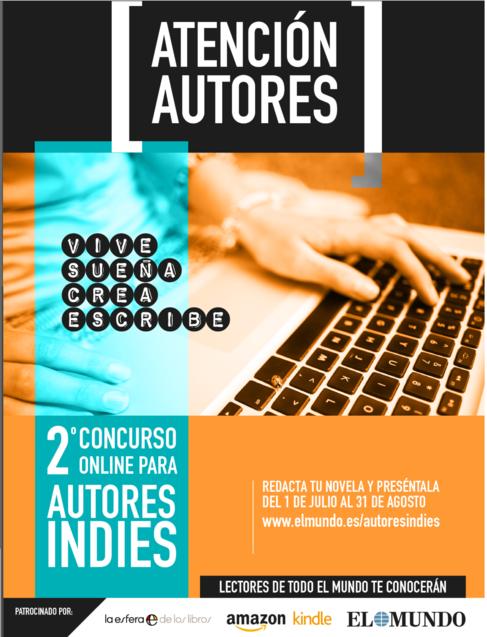 Segundo Concurso Literario de Autores 'Indie' en español