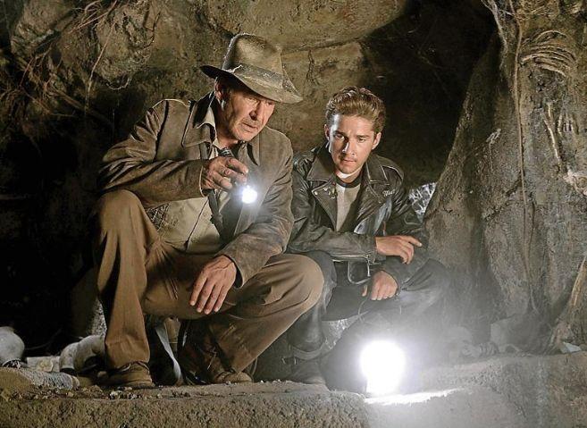Fotograma de 'Indiana Jones y el reino de la calavera de cristal'.