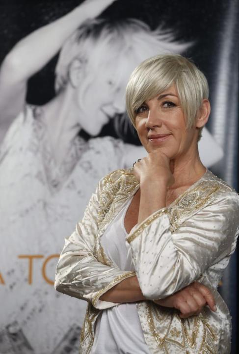 La cantante Ana Torroja, durante la presentación en Madrid de su...