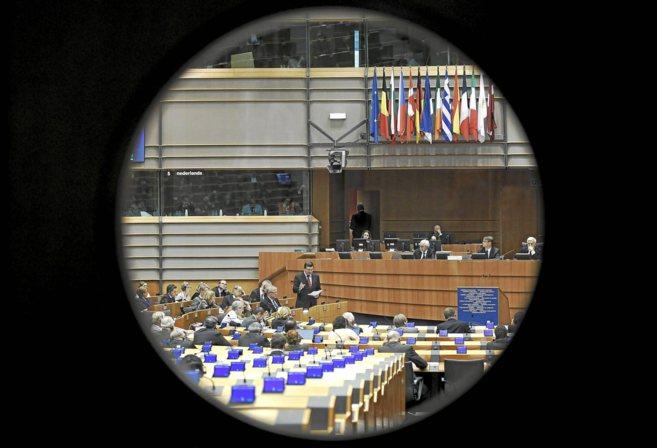 La Comisión Europea durante una sesión plenaria.