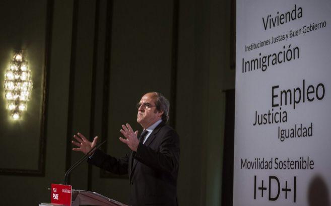 Ángel Gabilondo, candidato del PSOE para la Comunidad de Madrid,...