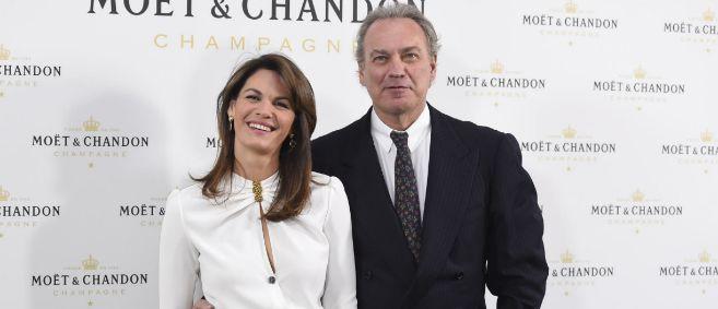 La pareja formada por Fabiola Martínez y Bertín Osborne.