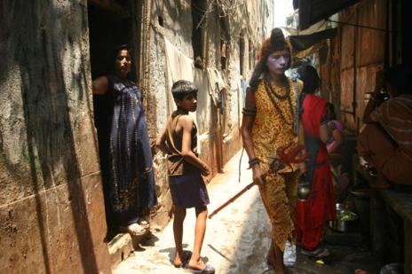 Mujeres indias.