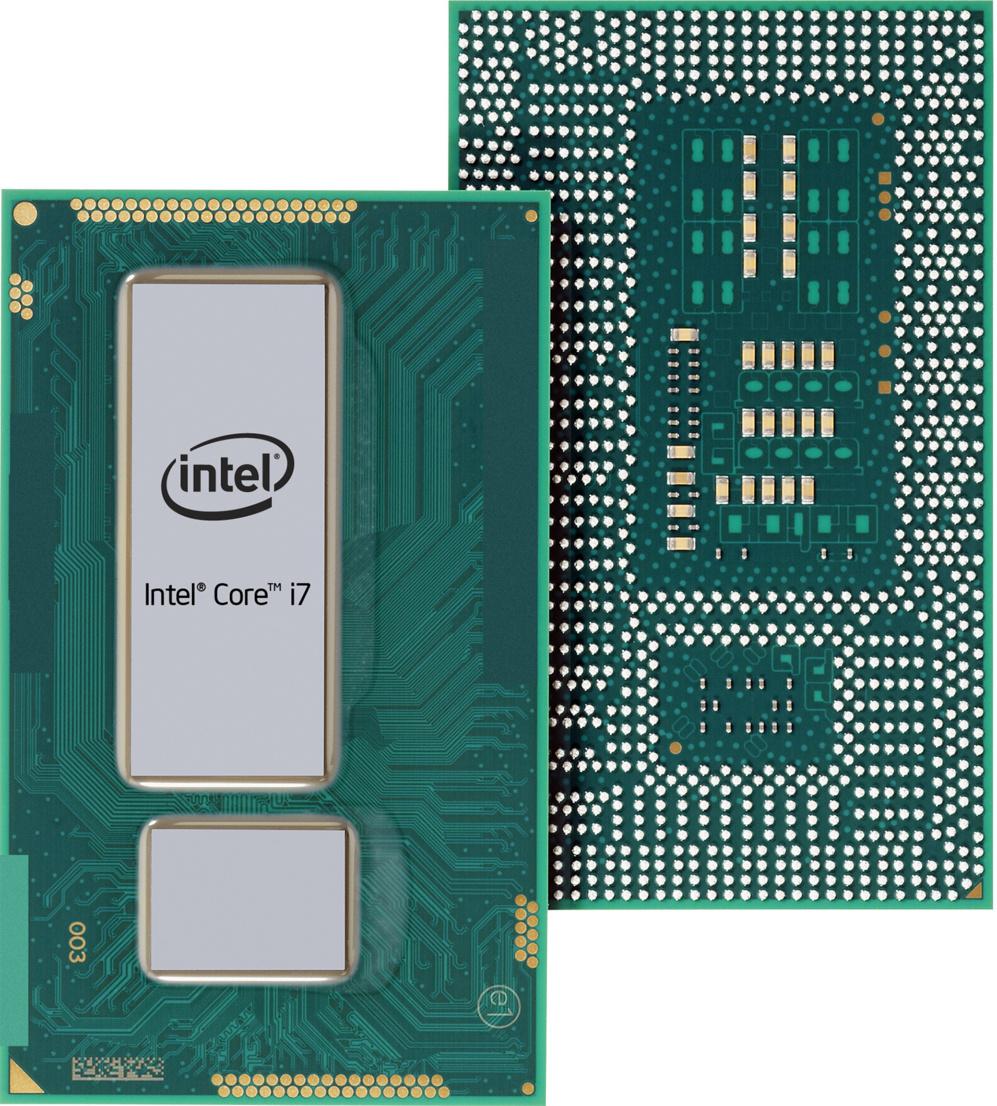 <STRONG>ORDENADORES. PUEDEN CON TODO (Intel IX)</strong>. La gama principal de procesadores de Intel es la que se compone de la quinta generación de procesadores i3, i5 e i7, chips para portátiles y sobremesa con diferentes niveles de potencia. Los i3 son los más asequibles y menos potentes. Son de doble núcleo y tienen asociadas GPU Intel HD o intel Iris (más avanzada y potente). i5, la gama media, es apta en sus configuraciones superiores para equipos profesionales, y la gama i7, la de mayor consumo y potencia, está claramente enfocada a entretenimiento digital y aplicaciones de edición gráfica que requieran alta potencia. Normalmente, suelen acompañarse de tarjetas gráficas dedicadas en los PC sobremesa y algunas configuraciones de portátiles.