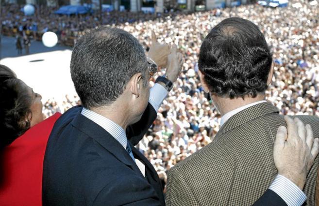 El ex presidente de la Comunidad Valencia, Francisco Camps, y el...