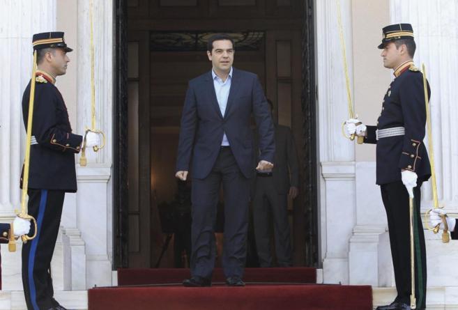 El primer ministro griego, Alexis Tsipras, en Atenas.