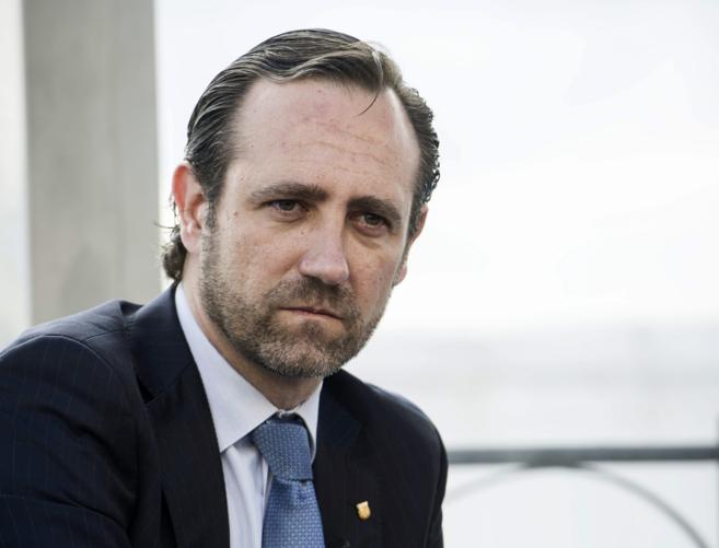 El presidente de Baleares, José Ramón Bauzá, en un encuentro con...