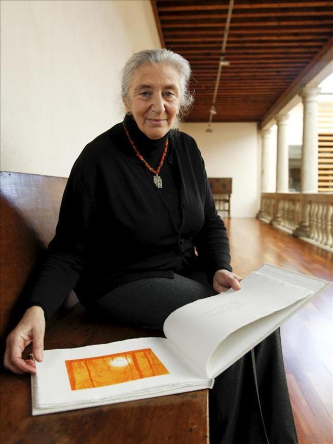 La escritora catalana Clara Janés.