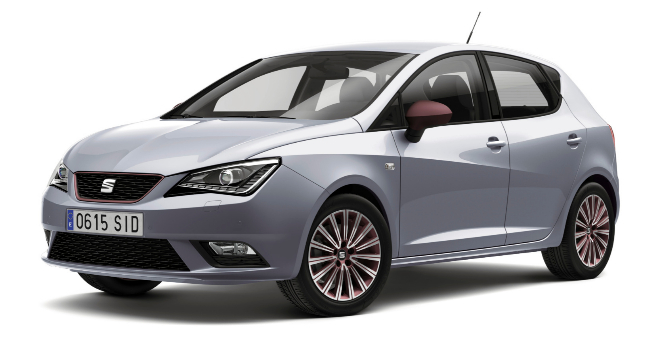 Nuevo Seat Ibiza presentado en el Salón del Automóvil de la ciudad...