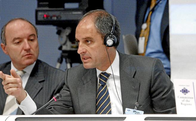 Francisco Camps, en el Comité de las Regiones de la Unión Europea en...