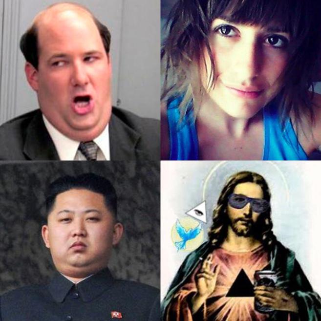 Los avatares de Gerardo Tecé, Anita Botwin, @norcoreano y...