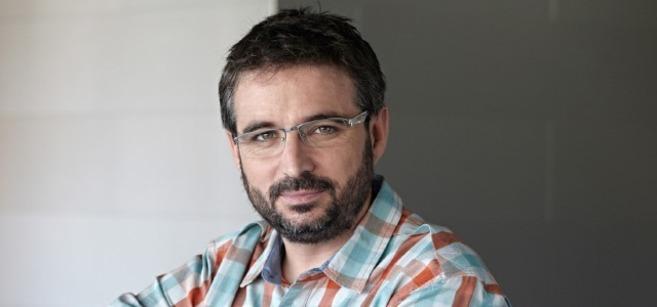 Jordi Évole, ganador del premio José Couso de Libertad de Prensa.