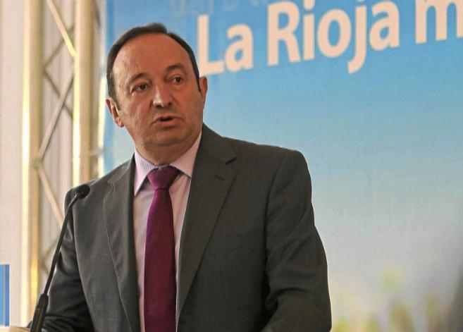 El presidente de La Rioja y candidato del PP, Pedro Sanz.