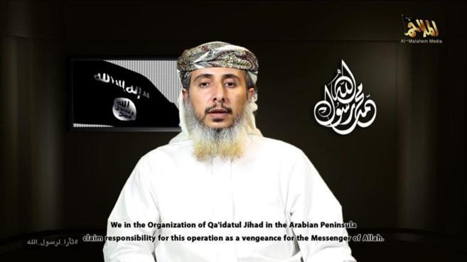 Imagen de uno de los vídeos en los que apareció Nasser Ibn Ali Al...