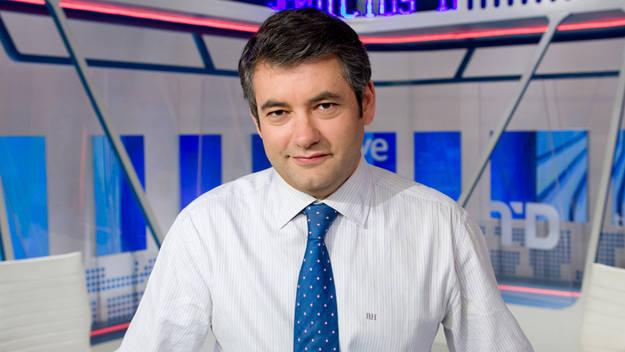 Julio Somoano, al frente de 'El debate de La 1'.