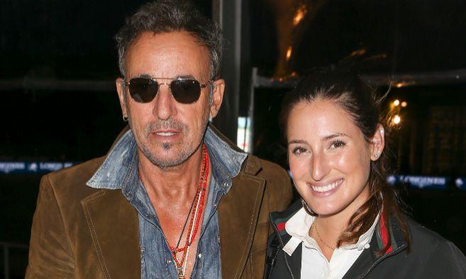 Bruce Springsteen y su hija Jessica