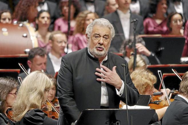 El tenor madrileño durante una de sus actuaciones en el Liceo de...