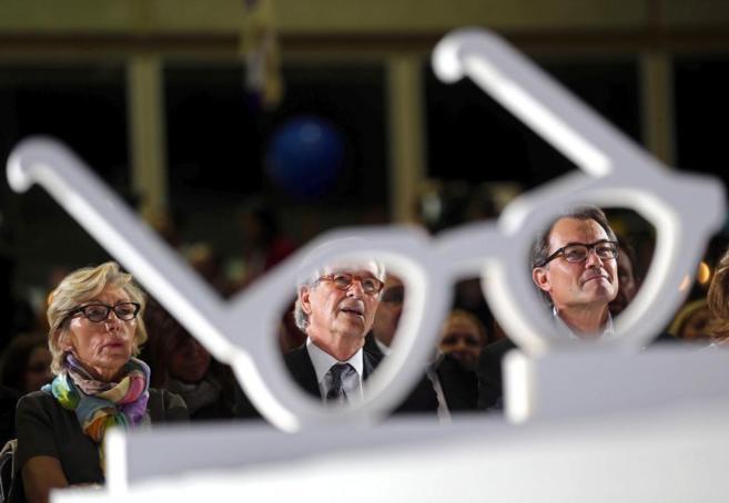 El alcalde y candidato de CiU por Barcelona