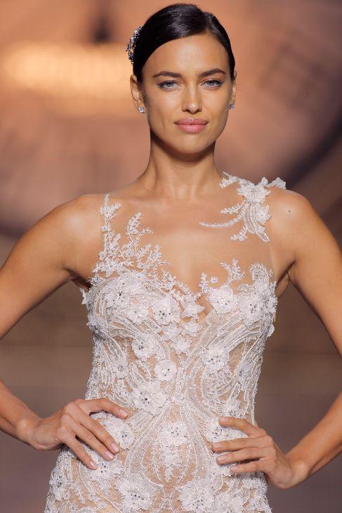 irina shayk se viste de novia - la 'top' se ha vestido de blanco