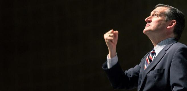 Ted Cruz, candidato a la presidencia que se ha sumado a las teorías...