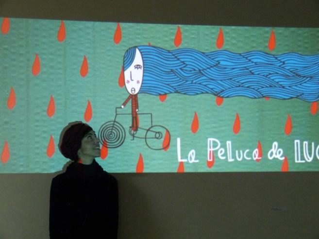 Helena Berenguer, una de las impulsoras del proyecto y madre de Luca,...