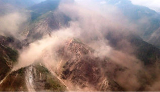 Las montañas de Sindhupalchowk.