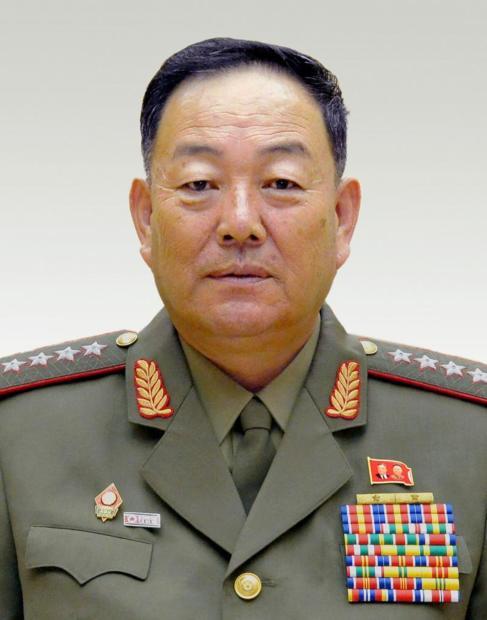 Imagen de archivo del año 2014 .del fusilado Hyon Yong-chol