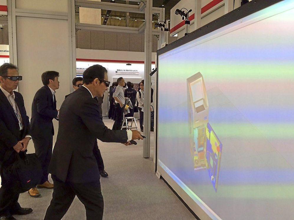 Una de las propuestas del foro de Fujitsu en Tokio.