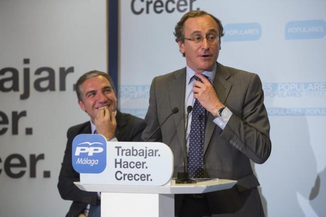 El ministro de Sanidad y Asuntos Sociales, Alfonso Alonso.
