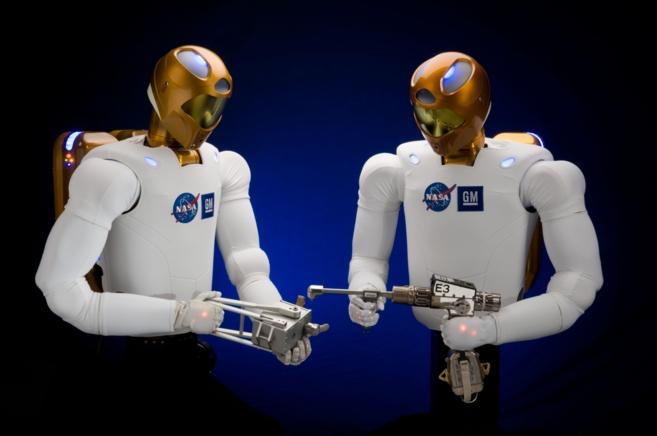 Robonaut, el robot de la Nasa diseñado para la exploración espacial....