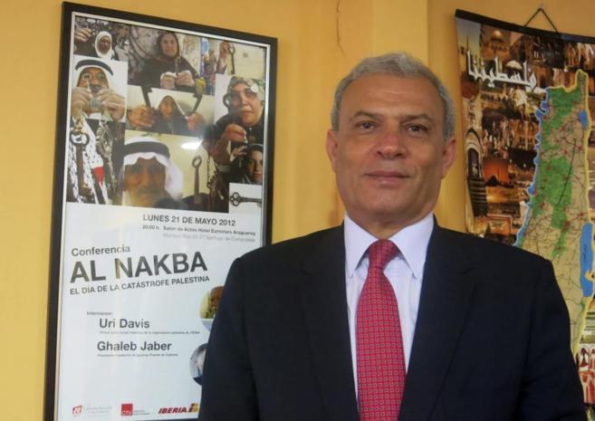 El viceprimer ministro palestino, Ziad Abu Amr.