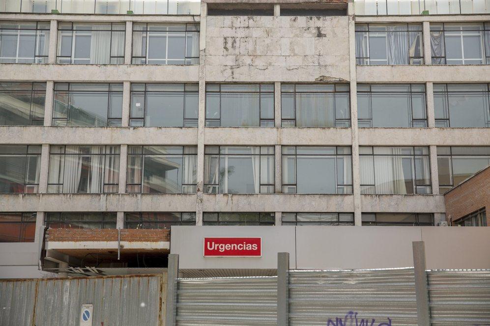 El hospital Puerta de Hierro, deteriorado por el abandono.