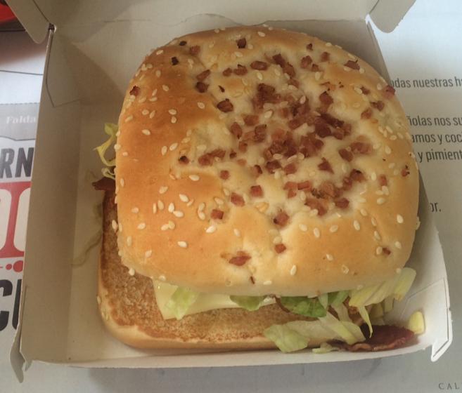 La CBO Cool Chutney es la nueva hamburguesa de McDonald's,