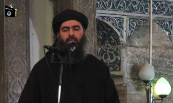 Al Bagdadi, durante un discurso.