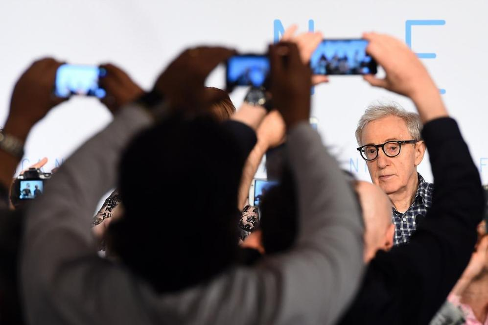 Woody Allen, este viernes en la presentación de 'Irrational...
