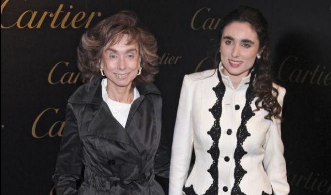 Paloma Segrelles madre e hija, en una imagen reciente.